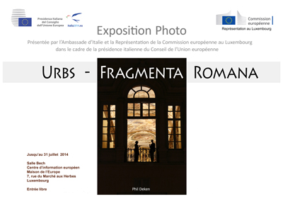 Expo photos Urbs Fragmenta Romana Cavour