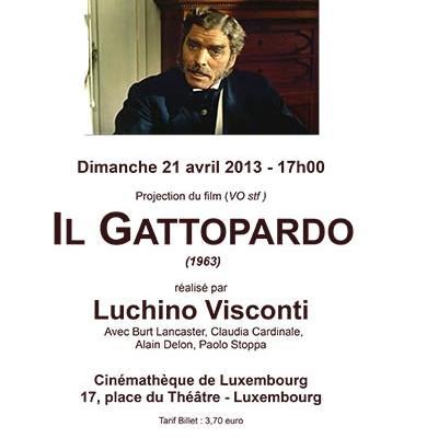 affiche gattopardo